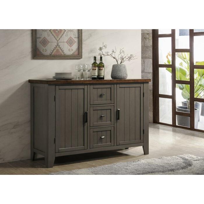 """Popular August Grove® Adalard 54"""" Wide 3 Drawer Sideboard (View 2 of 20)"""