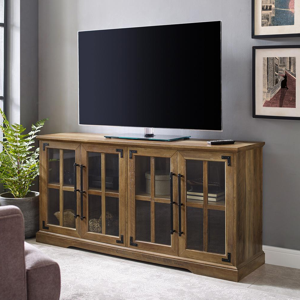 """Popular Jace Tv Stands For Tvs Up To 58"""" Intended For Welwick Designs 58 In (View 11 of 20)"""