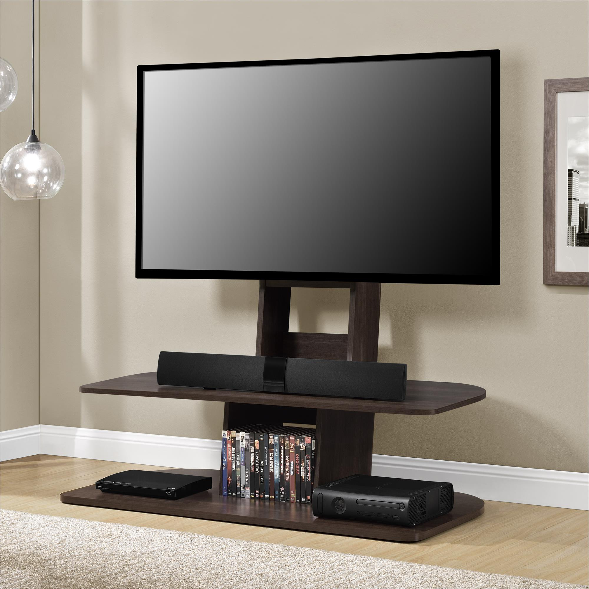 """Preferred Ameriwood Home Galaxy Xl Tv Stand With Mount For Tvs Up 65 With Regard To Shilo Tv Stands For Tvs Up To 65"""" (View 6 of 20)"""