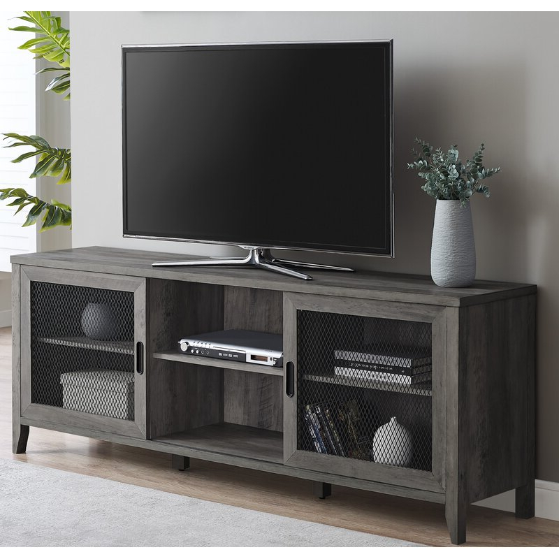 """Preferred Ira Tv Stands For Tvs Up To 78"""" With Regard To Gracie Oaks Terence Tv Stand For Tvs Up To 78 Inches (View 10 of 20)"""