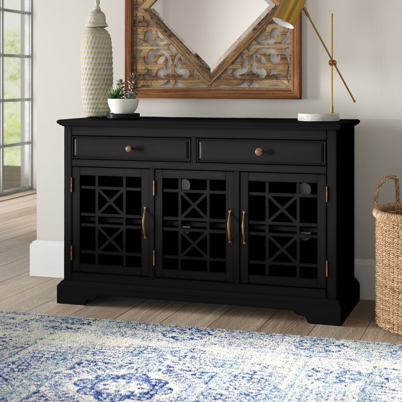 """Preferred Mistana™ Daisi 50"""" Wide 2 Drawer Sideboard & Reviews For Sandweiler 54"""" Wide 2 Drawer Sideboards (View 16 of 20)"""