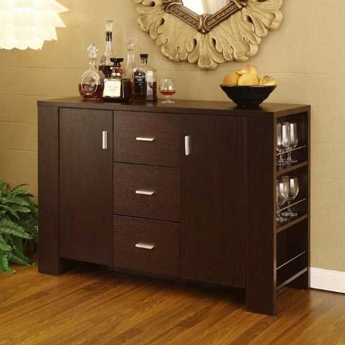 """Preferred The Lowest Price For 48 Inch Wide Clayton Cappuccino Throughout Ronce 48"""" Wide Sideboards (View 16 of 20)"""