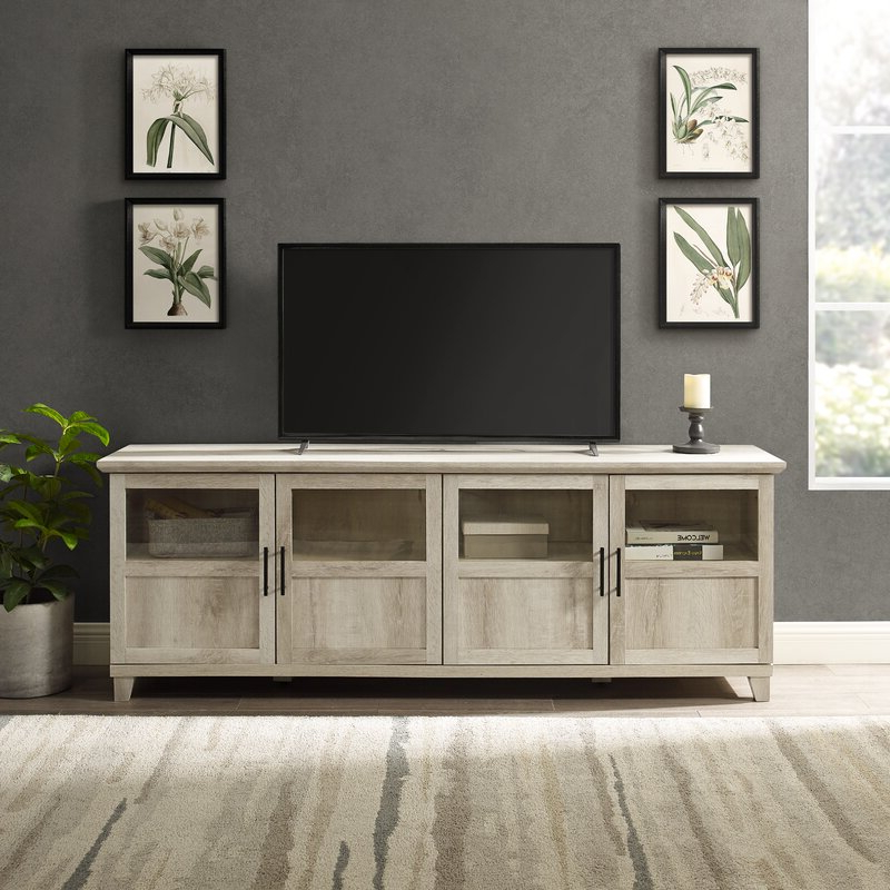 """Preferred Three Posts™ Timpson Tv Stand For Tvs Up To 78"""" & Reviews With Regard To Ira Tv Stands For Tvs Up To 78"""" (View 6 of 20)"""