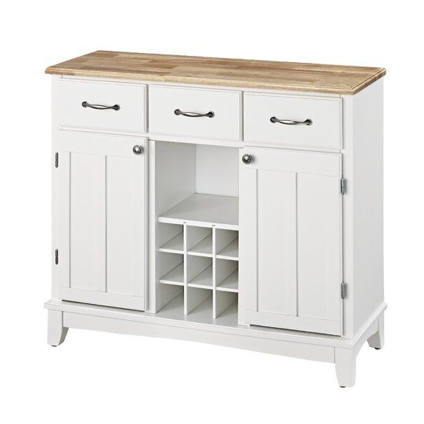 """Presswood Traditional 41.75"""" Wide 3 Drawer Wood Drawer Servers Inside Recent Presswood Traditional (View 9 of 20)"""