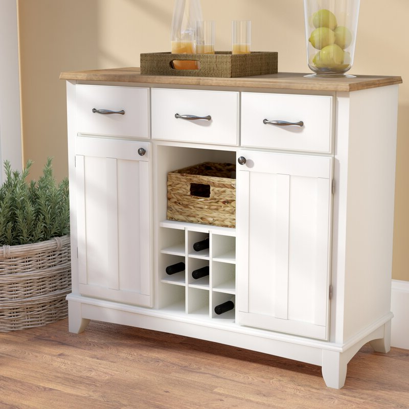 """Presswood Traditional 41.75"""" Wide 3 Drawer Wood Drawer Servers Within Fashionable Andover Mills™ Presswood Traditional (View 5 of 20)"""