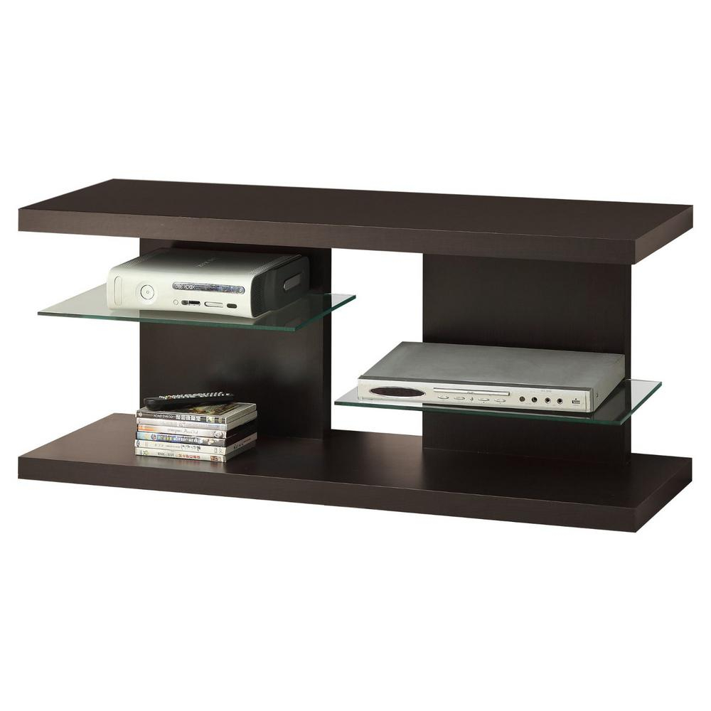 """Quillen Tv Stands For Tvs Up To 43"""" For Most Up To Date Homeroots Jasmine 16 In (View 7 of 20)"""