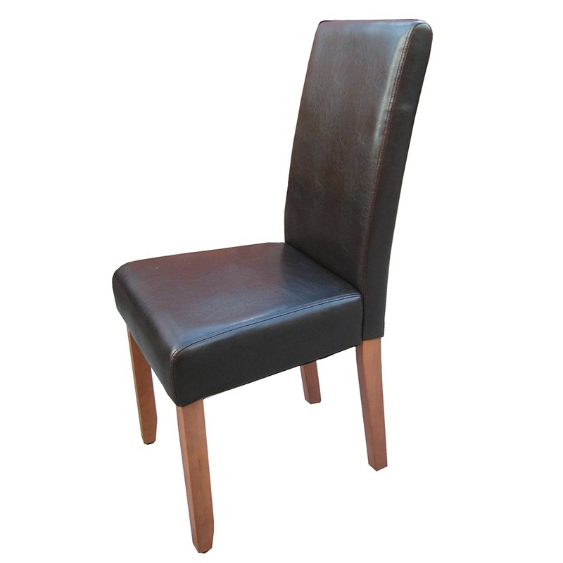 Rayden Sideboards Throughout Famous Rayden Pu Upholstered Dining Chair – Dark Brown/walnut (View 17 of 20)