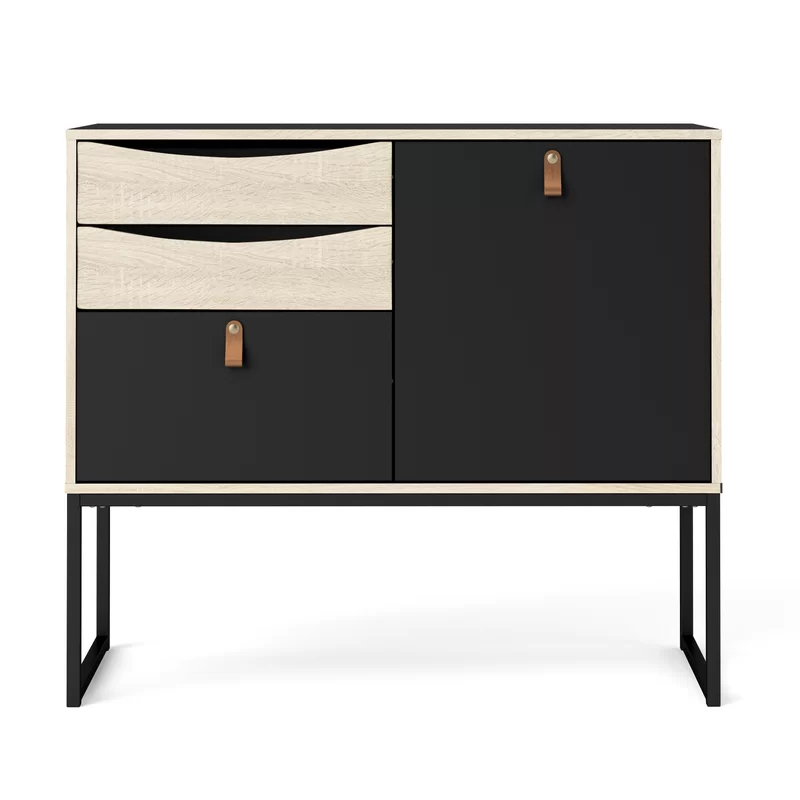 """Raymund 38.86"""" Wide 3 Drawer Buffet Tables Pertaining To Well Liked Raymund (View 3 of 20)"""