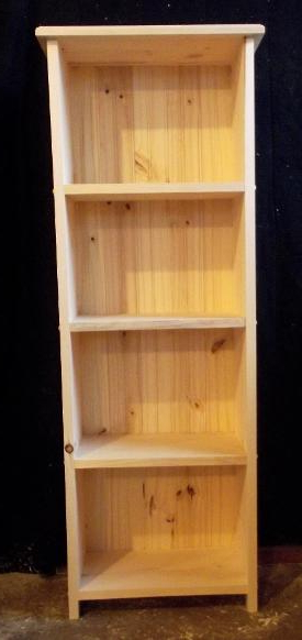 """Recent Brb Woodworking In Nazarene 40"""" H X 52"""" W Standard Bookcase (View 11 of 20)"""