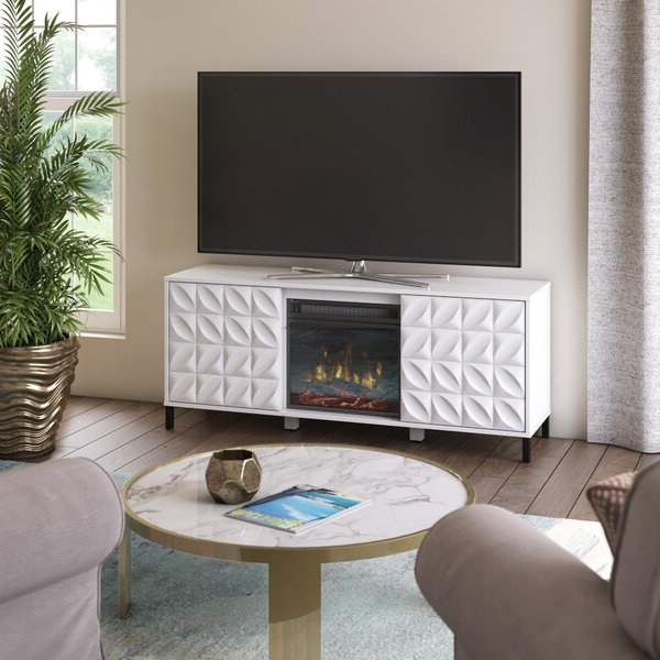 """Recent Ebern Designs Mitchellville Tv Stand For Tvs Up To 60 Intended For Lorraine Tv Stands For Tvs Up To 60"""" (View 17 of 20)"""