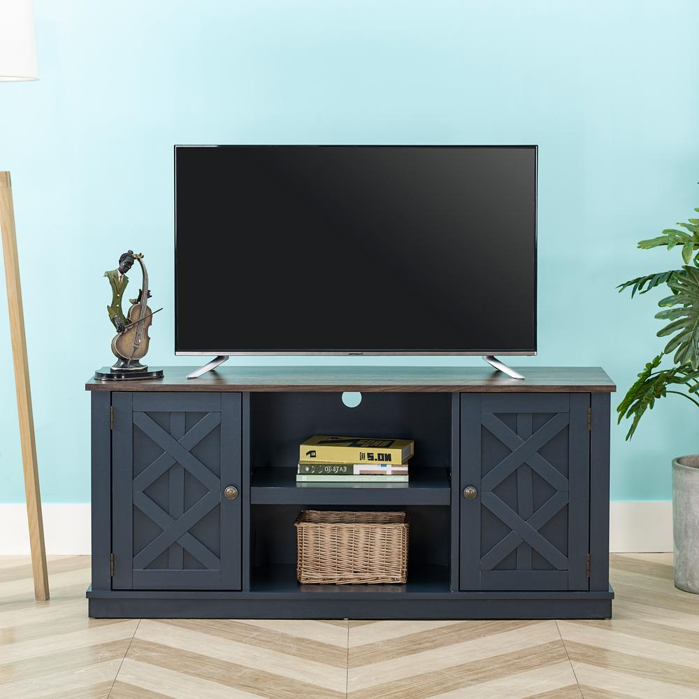 """Recent Evanston Tv Stands For Tvs Up To 60"""" With Unbranded 54 In (View 2 of 20)"""
