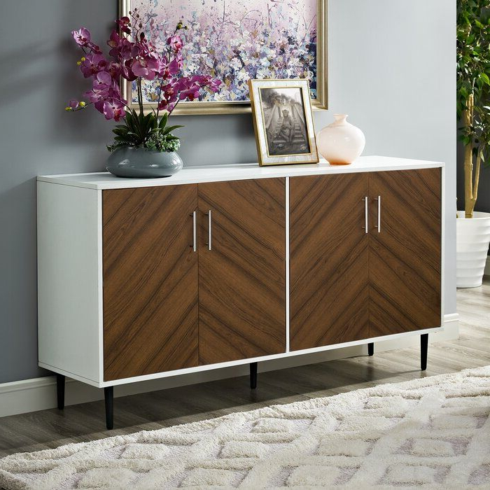 """Recent Givens 58"""" Wide Sideboard (View 5 of 20)"""