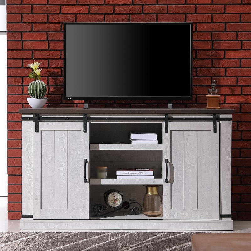 """Recent Herington Tv Stands For Tvs Up To 60"""" With Gracie Oaks Skofte Tv Stand For Tvs Up To 60"""" & Reviews (View 8 of 20)"""
