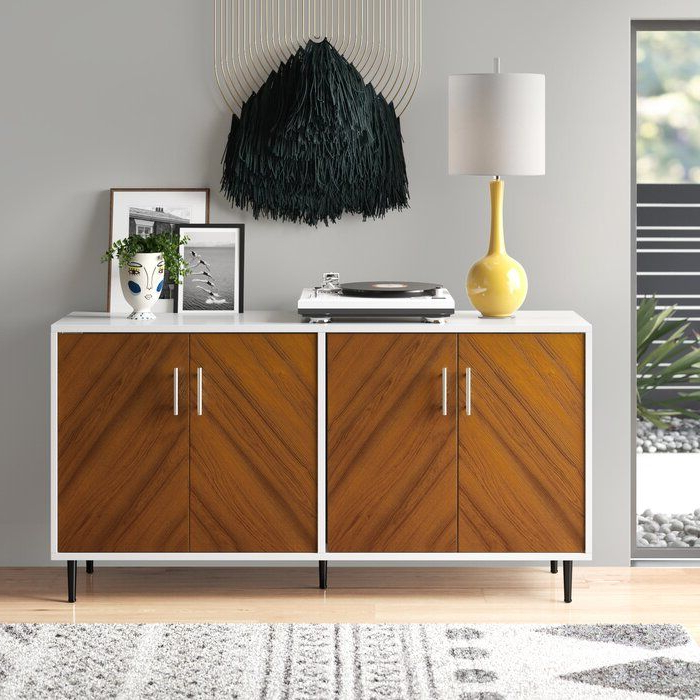 """Recent Islesboro 58"""" Wide Sideboards Throughout Givens 58"""" Wide Sideboard In (View 17 of 20)"""
