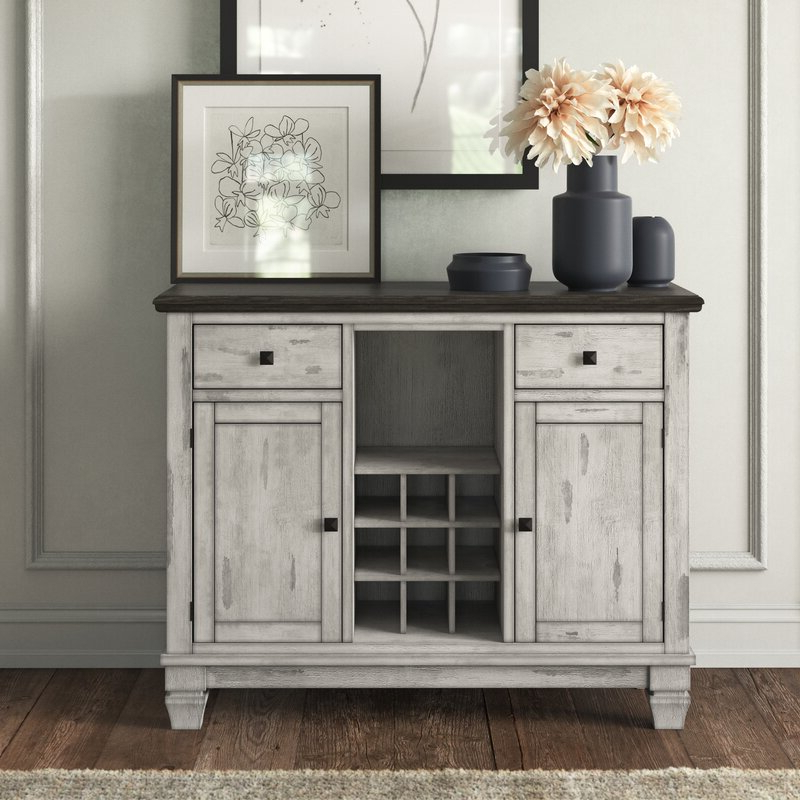 """Recent Kelly Clarkson Home Nathalie 46.63"""" Wide 2 Drawer In (View 5 of 20)"""