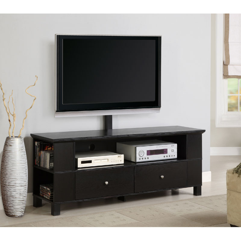 """Recent Khia Tv Stands For Tvs Up To 60"""" For Walker Edison 60 Wood Tv Console For Flat Screen Tvs Up To (View 6 of 20)"""