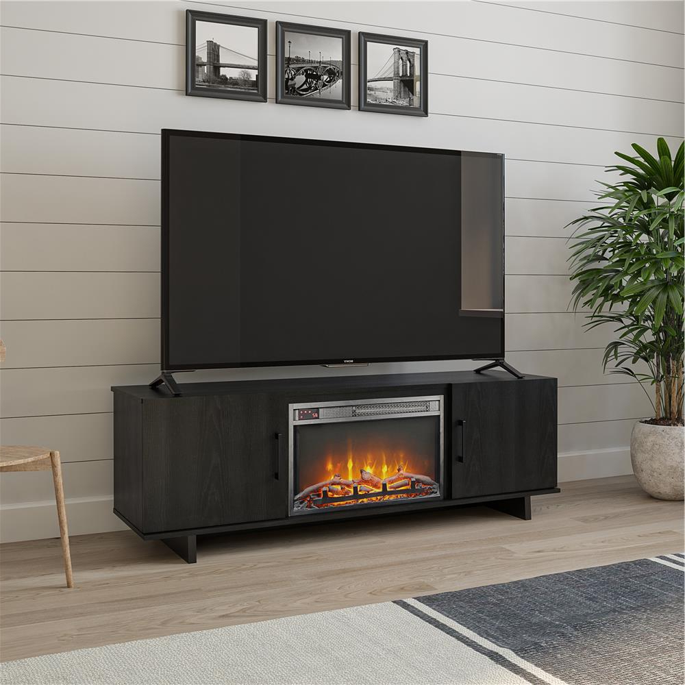 """Recent Lorraine Tv Stands For Tvs Up To 60"""" In Ameriwood Home Julia 60 In (View 12 of 20)"""