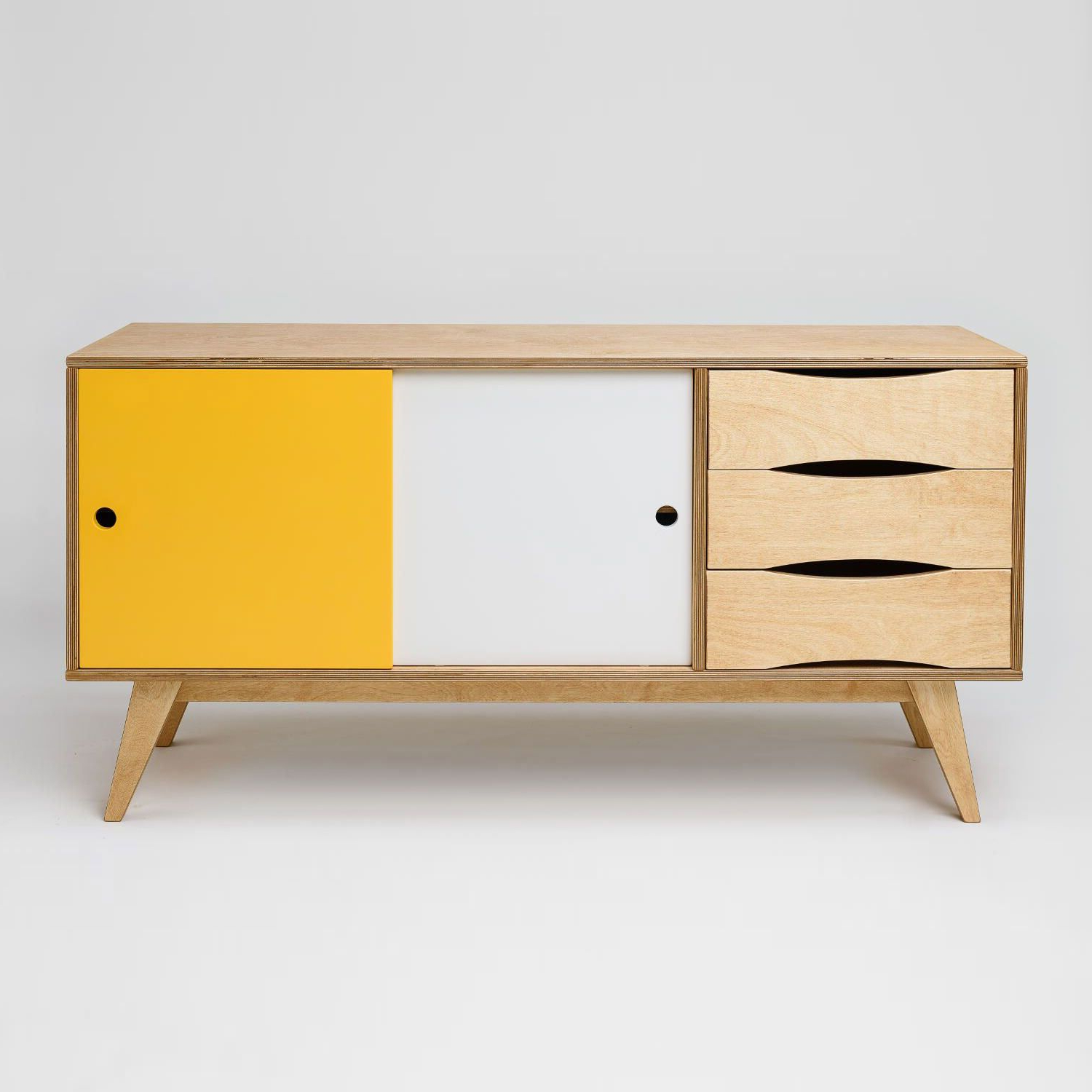 """Reece 79"""" Wide Sideboards Inside Most Recently Released So Sixties Wide Wooden Sideboard (View 8 of 20)"""