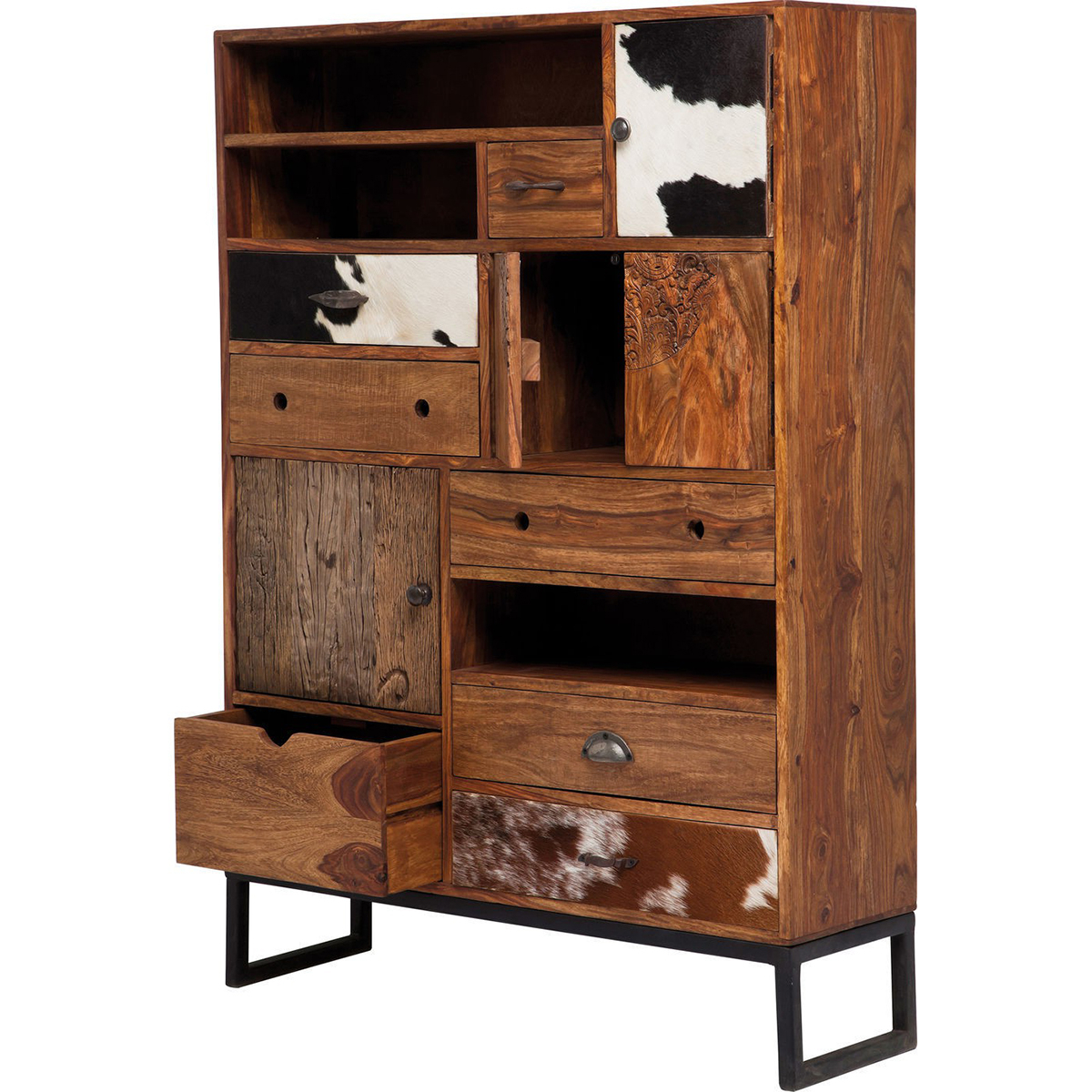 Rodeo 3 Doors 8 Drawers Cabinet Kare Design • Woo  (View 7 of 20)