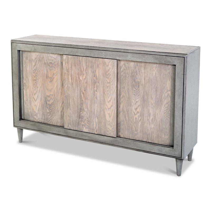 "Sarreid Ltd 63"" Wide Poplar Wood Credenza (View 13 of 20)"