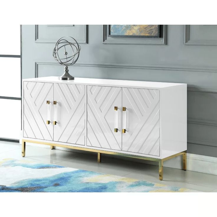 """Schade 64"""" Wide Sideboard (View 6 of 20)"""