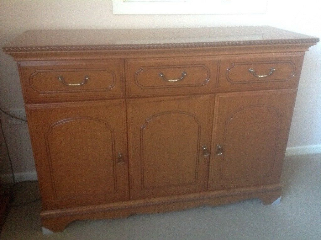 Sideboard – Cherry Wood Effect (View 17 of 20)
