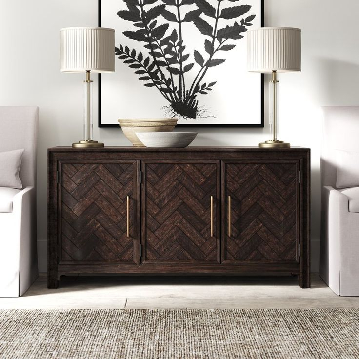 """Sideboard Decor, Sideboard With Regard To Most Popular Eskew 60"""" Wide Sideboards (View 16 of 20)"""