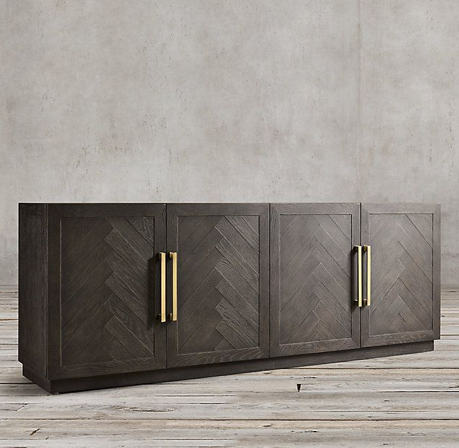 """Sideboard, Furniture Design Intended For Herringbone 48"""" Wide Buffet Tables (View 14 of 20)"""