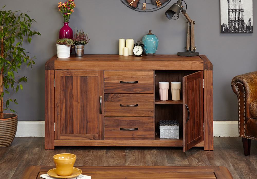 Sideboards Pertaining To Most Recent 3 Drawer Sideboards (View 11 of 20)