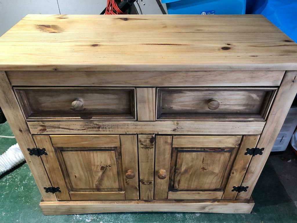 Solid Pine Cabinet Drawers Unit (View 10 of 20)