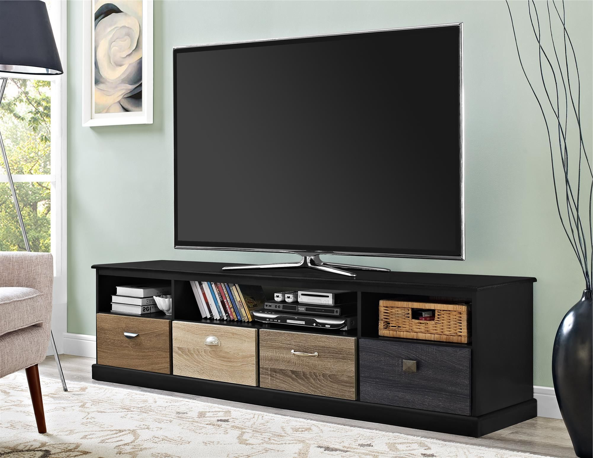 """Spruce Up Your Living Room With The Altra Blackburn 65"""" Tv In Fashionable Aaric Tv Stands For Tvs Up To 65"""" (View 3 of 20)"""
