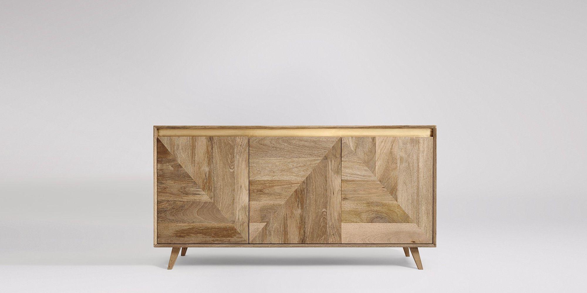 "Strock 70"" Wide Mango Wood Sideboards Inside Most Popular Karlsson (View 7 of 20)"