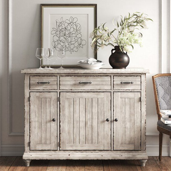 """Studio 56"""" Wide 3 Drawer Sideboard In (View 5 of 20)"""