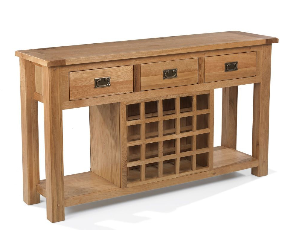 """This Range Of Furniture Comes With Thick Solid Oak Tops With Fashionable Heurich 59"""" Wide Buffet Tables (View 13 of 20)"""