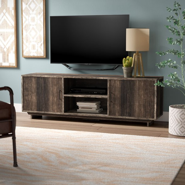 """Three Posts™ Cheriton Tv Stand For Tvs Up To 70"""" & Reviews Regarding 2019 Huntington Tv Stands For Tvs Up To 70"""" (View 7 of 20)"""