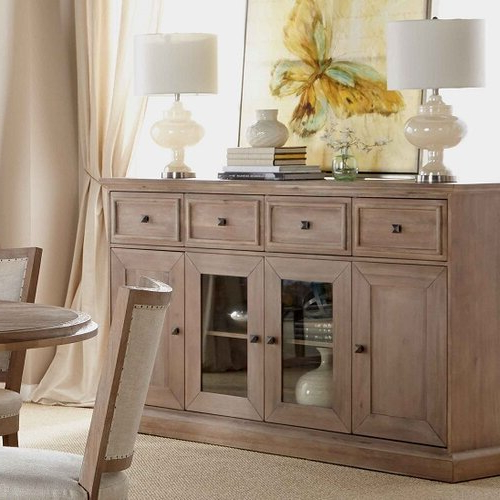 """Three Posts™ Derwent 70"""" Wide 4 Drawer Acacia Wood Intended For Well Known Claire 70"""" Wide Acacia Wood Sideboards (View 17 of 20)"""
