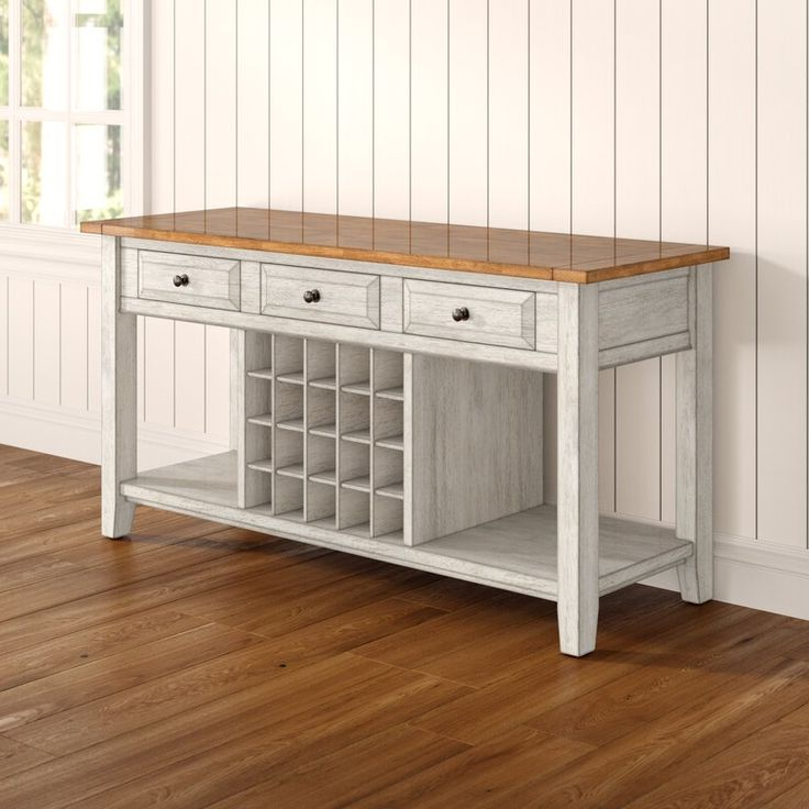 """Featured Photo of 64"""" Wide Rubberwood Sideboards"""