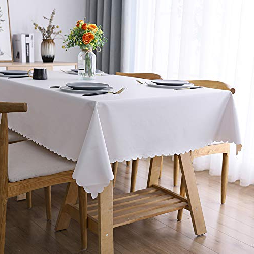 """Top 10 52 X 70 Vinyl Tablecloth – Tablecloths – Kitchenter Regarding Favorite Shirley Mills 52"""" Wide Buffet Tables (View 11 of 20)"""