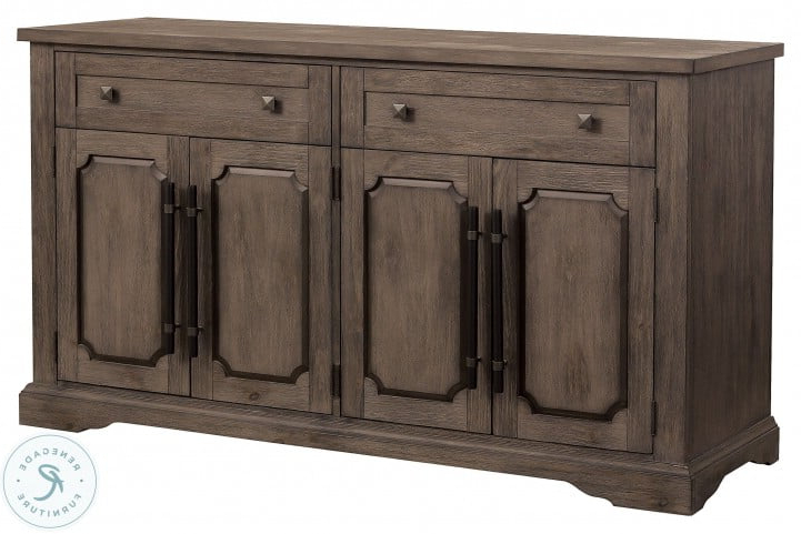 Toulon Brown Server From Homelegance (View 12 of 20)