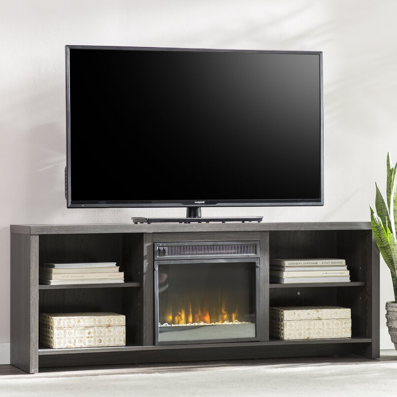 """Trendy Adalberto Tv Stands For Tvs Up To 65"""" With Mercury Row Pelton Tv Stand Tvs Up To 65"""" With Fireplace (View 10 of 20)"""
