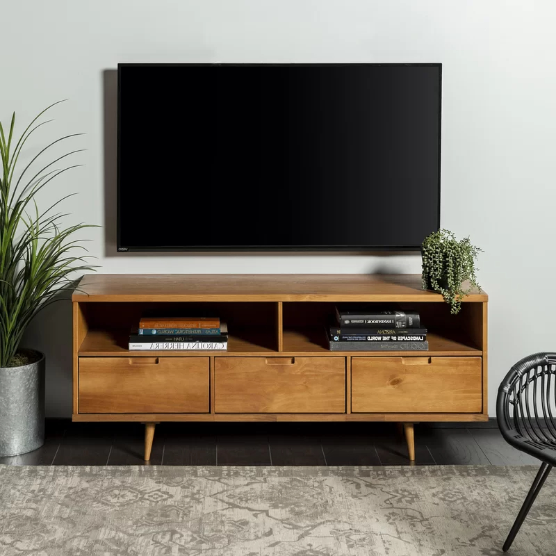 """Trendy Gervais Tv Stand For Tvs Up To 65"""" In  (View 18 of 20)"""