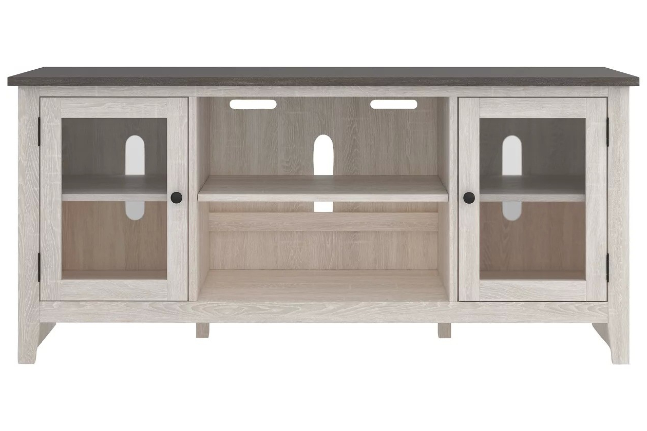 """Trendy Herington Tv Stands For Tvs Up To 60"""" Regarding Dorrinson Two Tone 60 Inch Tv Stand – 1stopbedrooms (View 18 of 20)"""