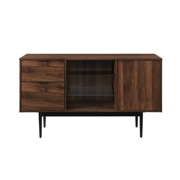 """Trendy Milena 52"""" Wide 2 Drawer Sideboards Within Slattery 52"""" Wide 2 Drawer Buffet Table & Reviews (View 9 of 20)"""