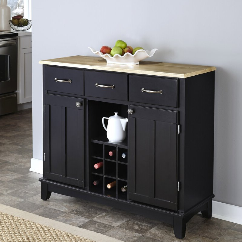 """Trendy Presswood Traditional 41.75"""" Wide 3 Drawer Wood Drawer Servers Regarding Andover Mills™ Presswood Traditional (View 2 of 20)"""
