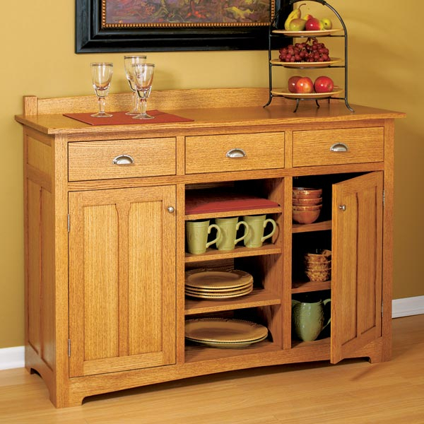 Trendy Traditional Sideboard Woodworking Plan From Wood Magazine Throughout Orner Traditional Wood Sideboards (View 20 of 20)