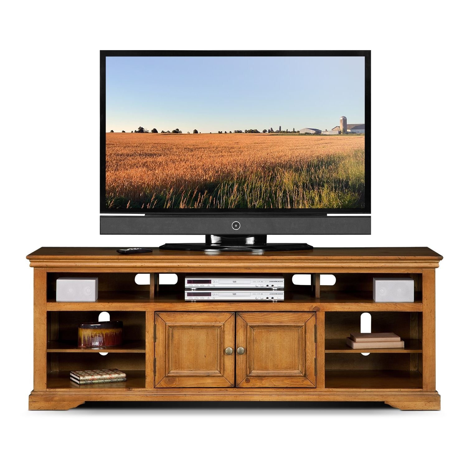 """Value City Furniture And Intended For Lederman Tv Stands For Tvs Up To 70"""" (View 13 of 20)"""