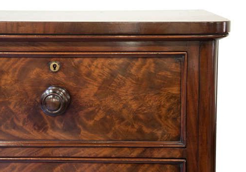 Victorian Flame Mahogany Chest Of Drawers C (View 6 of 20)