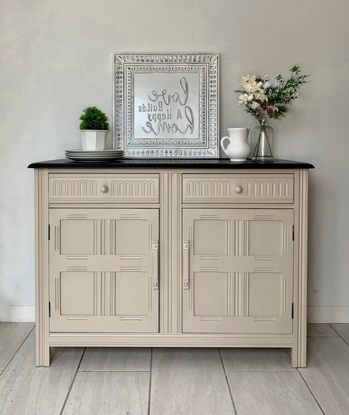 Wales Storage Sideboards For Well Liked Ercol Style Sideboard Cabinet Unit Storage (View 3 of 20)