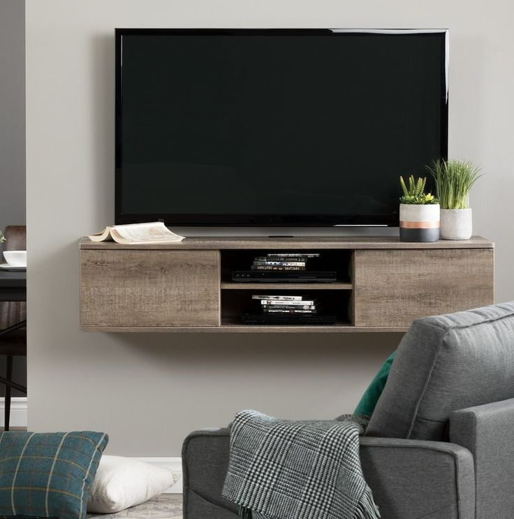 """Wall Intended For Most Recently Released Shilo Tv Stands For Tvs Up To 65"""" (View 14 of 20)"""