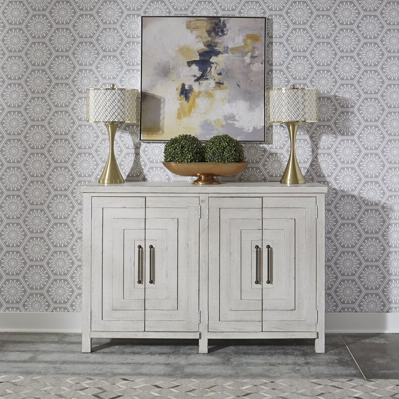 """Wayfair For 64"""" Wide Rubberwood Sideboards (View 3 of 20)"""